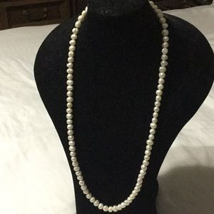 "32"" freshwater pearl necklace"